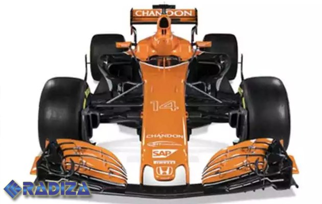 McLaren regresa a sus coches color naranja